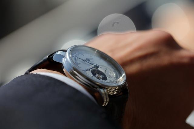 腕時計アピール