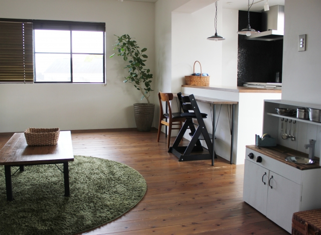 清潔な部屋